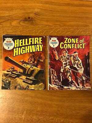 War Picture Library Comics x 2