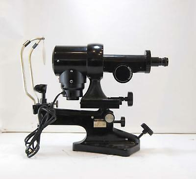 Bausch & Lomb Keratometer Ophthalmometer Optical Optometry Manual 71-21-35