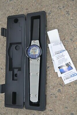 CDI 6002LDINSS Torque 3/8-Inch Drive Dial Torque Wrench 600 IN LBS NEW