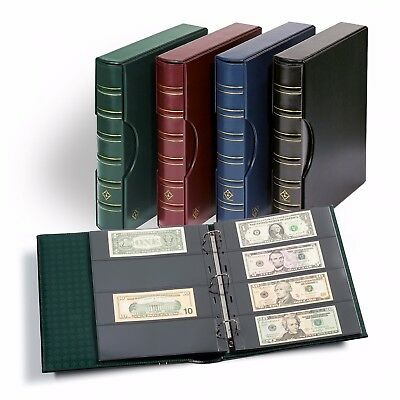 Banknotes Currency Album Binder For 160 Modern Size Bills / Dollar Archival Page