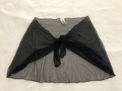 3f36f0373c MIRACLESUIT COVER UP Skirt Size Large Black With Purple/Lilac New ...