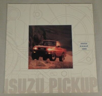 1990 Isuzu Pick-Up Truck Dealership Sales Brochure Catalog 9 Pages