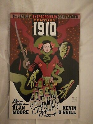 The League Of Extraordinary Gentlemen Century 1910 Signed By Alan Moore And...