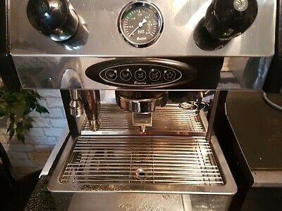 Fracino bambino coffee machine with grinder & accessories