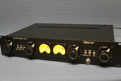Another Restored Pair of Telefunken 672 Mic-Preamps