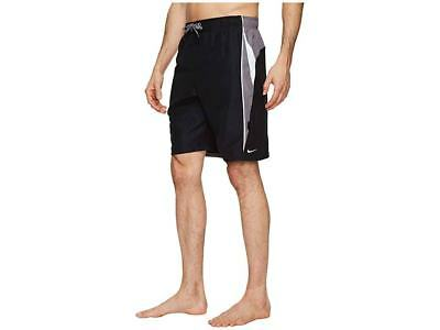 "8454ffe4aeaf8 Nike Men's Contend 9"" Black/Grey/White Volley Shorts/Trunks (NESS8402"