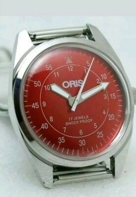 Swiss Made ORIS, Hand windin vintage     17 jewels  FHF  ST 96,  35 mm, Working