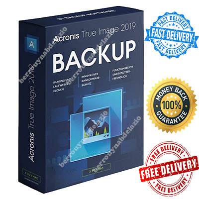 Acronis True Image 2019 Win+ISO | Lifetime Multi Devices | Instant Delivery 📥