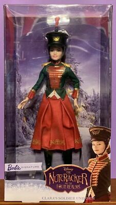 NEW Barbie Signature Doll Nutcracker and the Four Realms Clara's Soldier Uniform