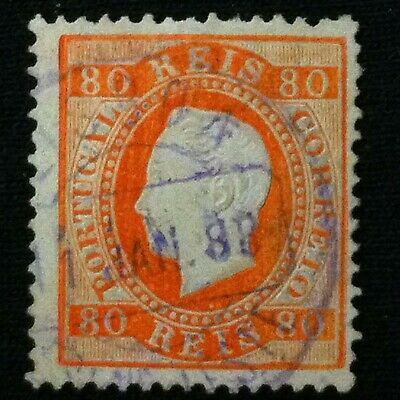 Portugal  SC #44  Used  1870