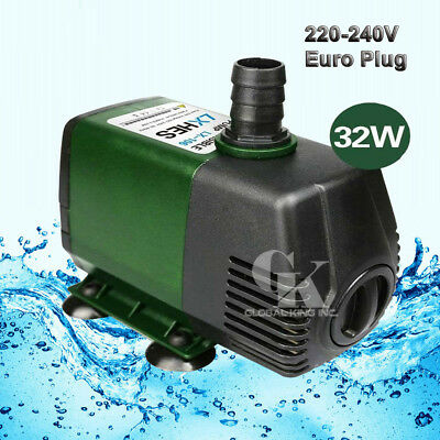 220V Submersible Water Pump 2800LPH Fish Tank Fountain Pond Fall Hydroponic 32W