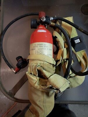 Red Luxfer Isi Scba Tc-3Hwm 7235 3000 Luxfer 2 207 A 95 Tank + Harness