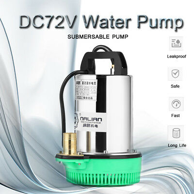 DC 36V Solar Farm /& Ranch Deep Well Submersible Water Pump 350W,49.2FT Max Lift
