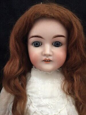 Antique German Bisque Doll - Max Handwerck