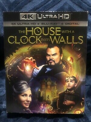 The House With A Clock In Its Walls 4K Blu-Ray/Digital/Ultra HD With Slipcover
