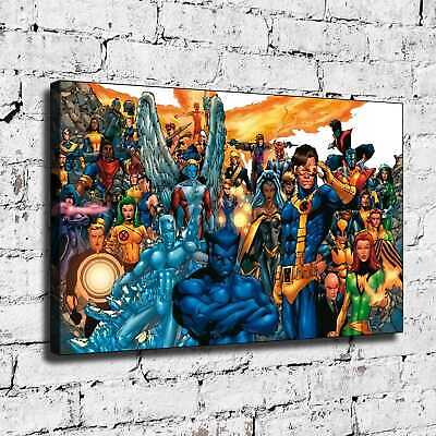 Super hero HD Canvas prints Painting Home Decor Picture Room Wall art 125400