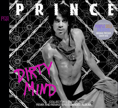 PRINCE / DIRTY MIND COLLECTOR'S EDITION 2xCD PRESS DISC F/S