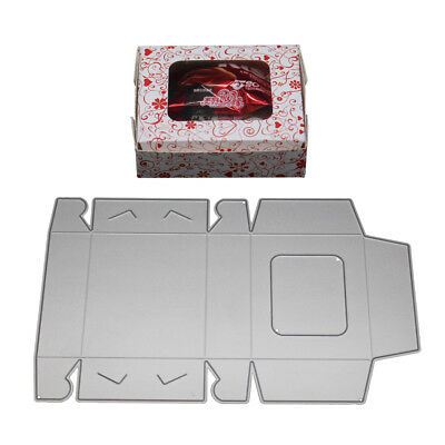 Candy Gift Box Cutting Dies Scrapbooking Paper Card Craft Embossing Stencil Fash