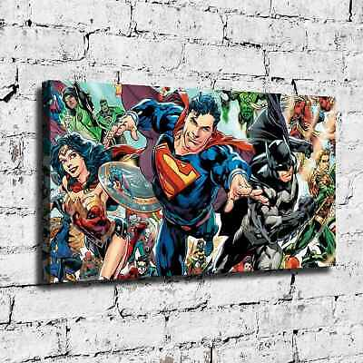 Super hero HD Canvas prints Painting Home Decor Picture Room Wall art 125404
