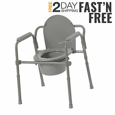 Groovy Bedside Commode Portable Toilet Seat Riser Handicap Bathroom Bralicious Painted Fabric Chair Ideas Braliciousco