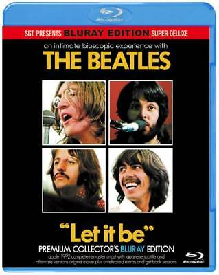 The Beatles  LET IT BE SGT JAPAN Premium Collector's Edition 2×Blu-ray  *F/S