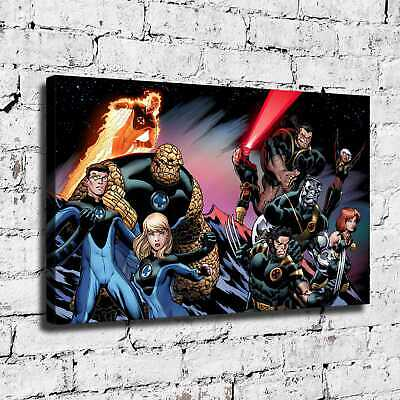 Super hero X-Men HD Canvas prints Painting Home Decor Picture Room Wall art 5428