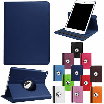 For Apple iPad 9.7 6th Gen 360 Rotating Shockproof Leather Flip Smart Stand Case
