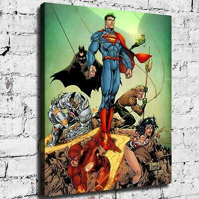 Super hero HD Canvas prints Painting Home Decor Picture Room Wall art 125454