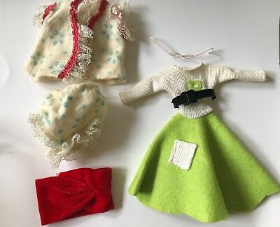 Doll clothes and accessories - Vintage - Mixed Lot - 1950s 1060s