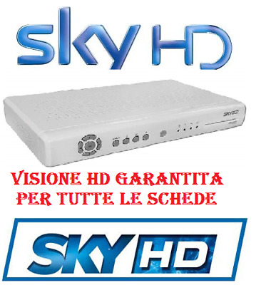 + SKY HD skyhd  LEGGE TUTTE LE SCHEDE VISIONE IN HD DS830NS DS831NS +