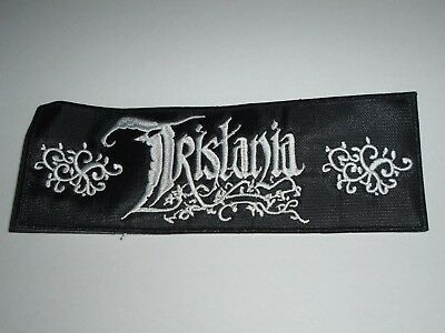 Tristania Gothic Metal Embroidered Patch