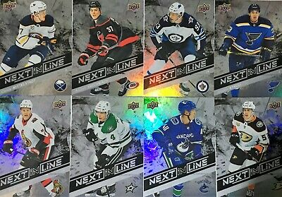 2018-19 Upper Deck Overtime NEXT IN LINE - U PICK / CHOISIS