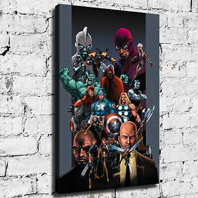 Super hero HD Canvas print Painting Home Decor Picture Room Wall art 125462