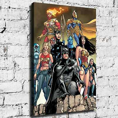Super hero HD Canvas print Painting Home Decor Picture Room Wall art 125463