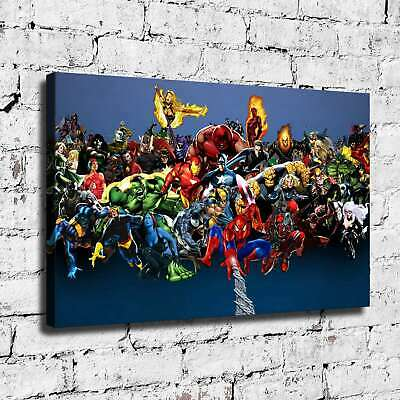 Super hero HD Canvas prints Painting Home Decor Picture Room Wall art 125479