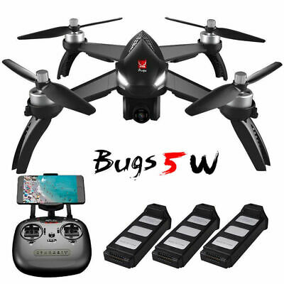 MJX Bugs 5W B5W WiFi FPV Brushless RC Quadcopter w/ 1080P Camera Altitude hold