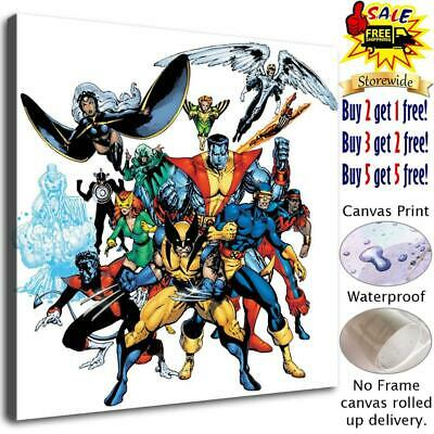 X-men Photos Poster HD Canvas print Paint Home Decor Picture Room Wall art 25498