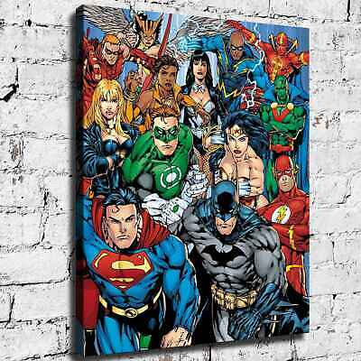 Super hero HD Canvas prints Painting Home Decor Picture Room Wall art 125528