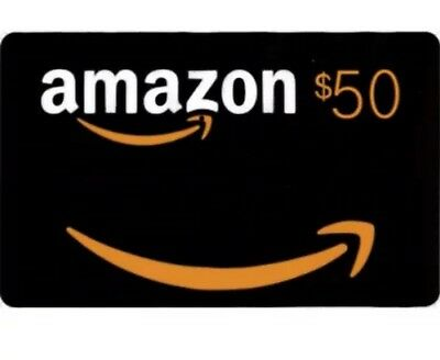 $50 Amazon Gift Card fast USPS delivery