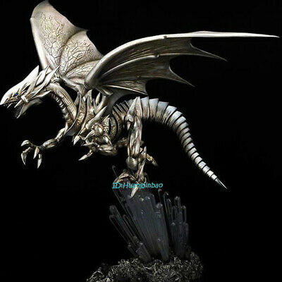 Duel Monsters Blue eyes White Dragon Painted Resin Statue Model Sculpture Figure