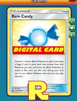 2x Rare Candy - for Pokemon TCG Online ( DIGITAL ptcgo in Game Card)