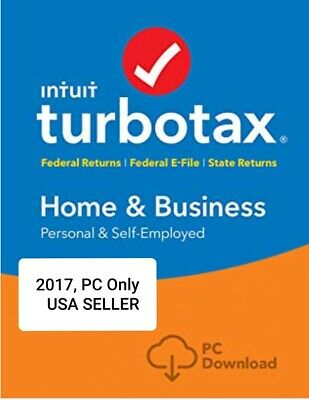 turbotax download 2017 home and business