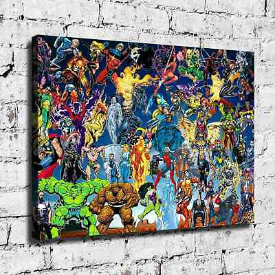 Super hero HD Canvas prints Painting Home Decor Picture Room Wall art 125571