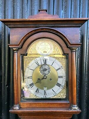 A Longcase (Grandfather) Clock By W.m Ward Of Spilsby Lincs