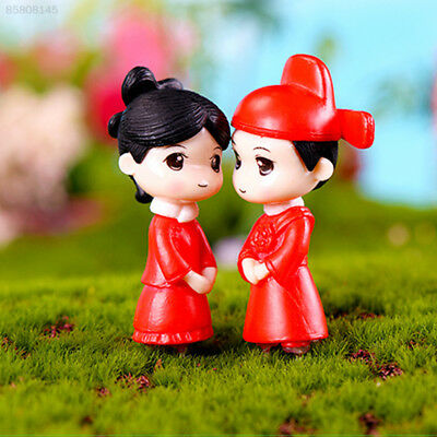 2DDF Mini Doll Lovers Small Lightweight Collection Decoration Party Desk Red