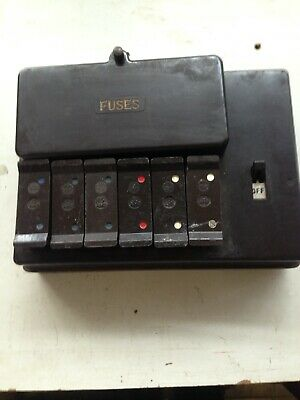 Wylex Fuse Box Old - Schematics Online on