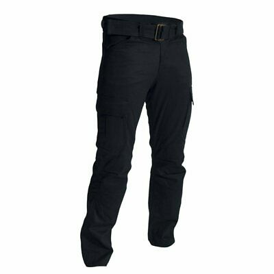 RST 2215 Aramid Utility Cargo Black With Belt Motorcycle Jeans / Trouser
