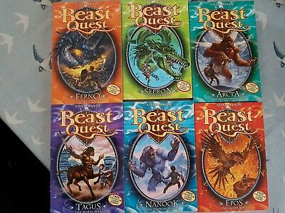 Beast Quest books 1-6, series 1. Very Good Condition