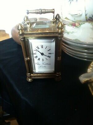 miniature carriage clock Chas frodsham