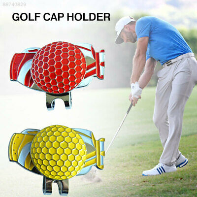 0B83 Golf Cap Clip Magnetic Durable Decoration Storage Gift Sports Shoes Alloy
